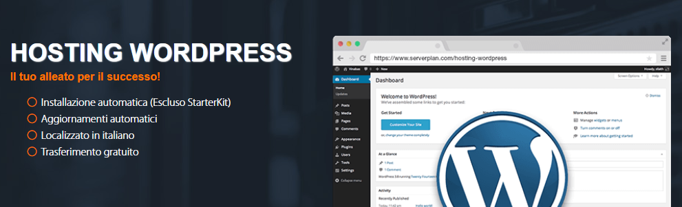 serverplan hosting wordpress