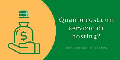 Quanto costa un servizio di hosting?