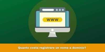 Quanto costa registrare un nome a dominio?